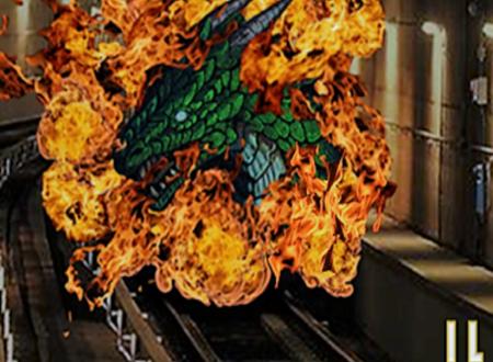 Il dragone sul treno