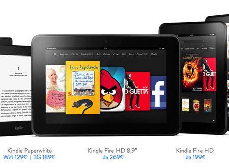 Kindle: modelli a confronto. Quale scegliere?