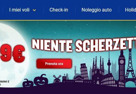 Mostruose: le offerte Ryanair per Halloween a partire da 7,19€