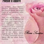 Poesie d'amore della scrittrice Rosa Santoro