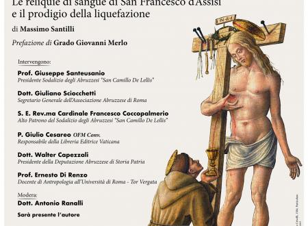 Il sangue di Francesco: presentazione del libro