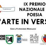 """IX edizione del Premio Nazionale """"L'arte in versi"""""""