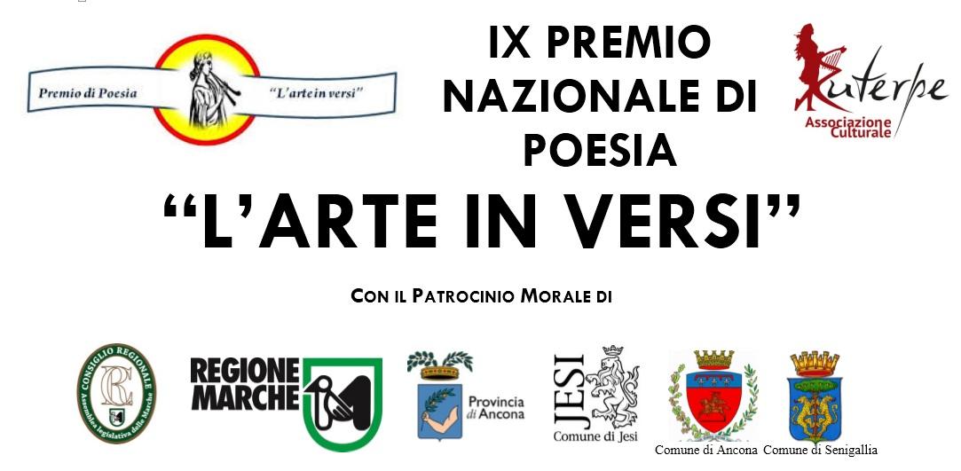 """IX edizione del Premio Nazionale """"L´arte in versi"""""""